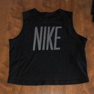 Nike cropped training tank